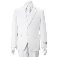 Boy's White 5 Piece communion Suit