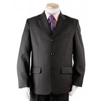 Boy's Black 3 Piece Wedding Suit