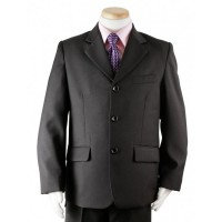 Boy's Black 3 Piece Graduation Suit