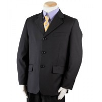 Boy's Navy 3 Piece Graduation Suit