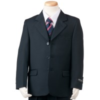 Boy's 3 Piece Navy Slim Suit