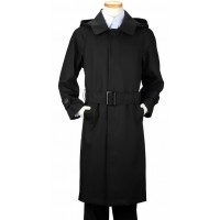 Boy's Black Rain Coat