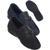 Boy's Black Leather Shoe With Buckle