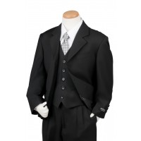 Boy's 3 Piece Armani Suit Black Husky