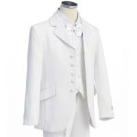 Boy's 5 Piece White Tuxedo