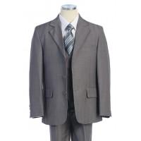 Boy's 3 Piece Grey Suit